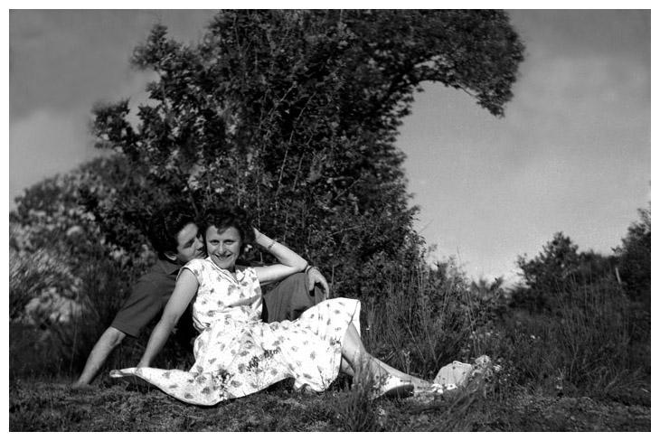 1956 - mes parents