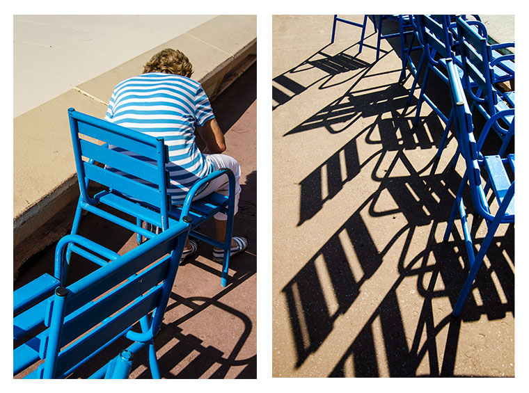 Chaises à Cannes