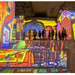 Carrières de lumières - expo Klimt